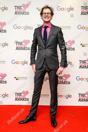 Mark Dolan at the 5th annual Lovie Awards, held at BFI Southbank. Mark presented the awards show.