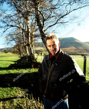 Jasper Fforde near his home in the Brecon Beacons.