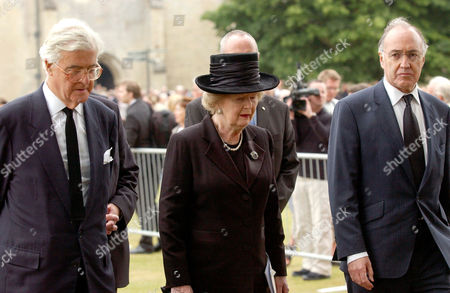 Kenneth Baker, Margaret Thatcher and Michael Howard.