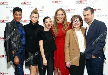 Stock Photo of Kimberly Chandler, Sara Riff, Nevena Borissova, Katharina Harf, Suzi Weiss-Fischmann