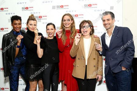 Kimberly Chandler, Sara Riff, Nevena Borissova, Katharina Harf, Suzi Weiss-Fischmann