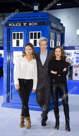 Ingrid Oliver, Peter Capaldi, Michelle Gomez