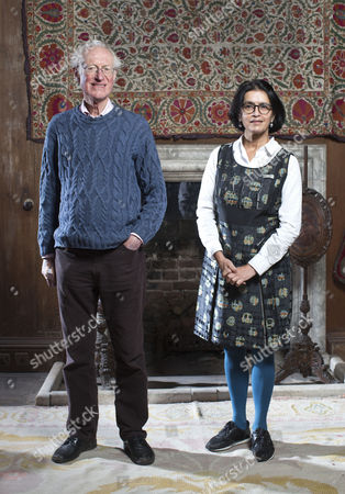 Bamber Gascoigne and Wasfi Kani
