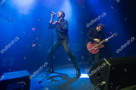 Editorial image of Suede in concert at the Roundhouse, London, Britain - 13 Nov 2015