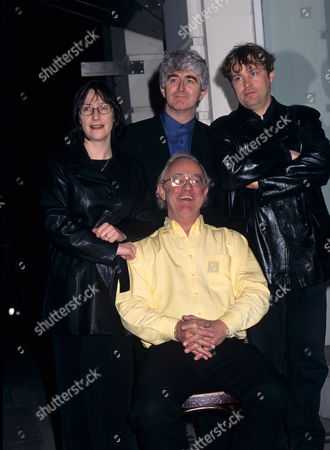 Pauline McLynn, Dermot Morgan, Frank Kelly and Ardal O'Hanlon, the cast from 'Father Ted' TV programme - 1998