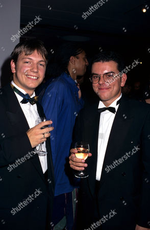 EastEnder actors Mark Homer and Andrew Lynford at the National TV Awards