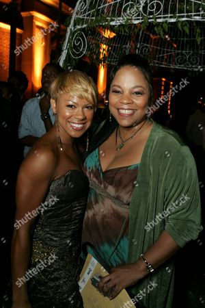 Toni Trucks and Tonye Patano