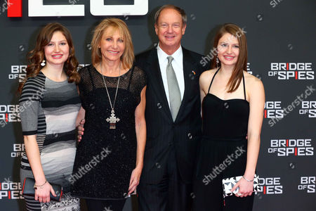 John B Emerson with Kimberly Marteau Emerson, Taylor and Hayley