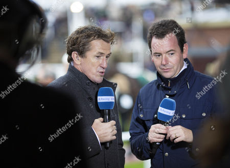 AP McCoy  joins the   Channel 4 Racing team as a presenter with Nick Luck.