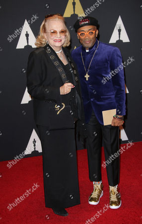 Gena Rowlands and Spike Lee