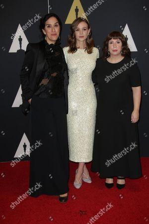 Sarah Gavron, Carey Mulligan and Abi Morgan