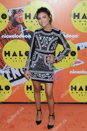 Editorial image of Nickelodeon Halo Awards, New York, America - 14 Nov 2015