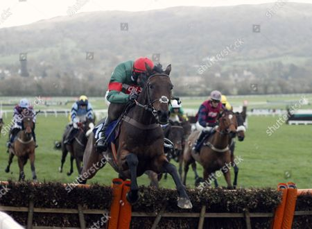 UNOWHATIMEANHARRY (Liam McKenna) wins The Celebrating 20 Years Of Jets Conditional Jockeys Handicap Hurdle Cheltenham