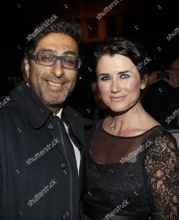 Sanjeev Kohli and Dawn Steele