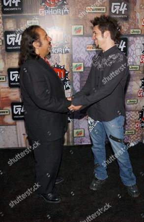 Ron Jeremy and Hal Sparks