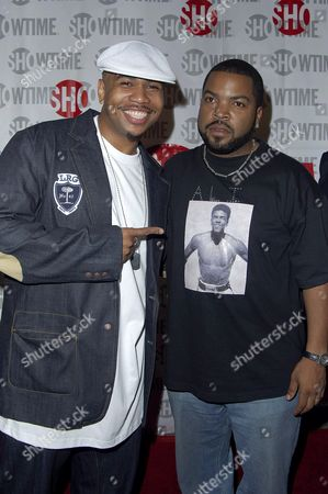 Omar Gooding and Ice Cube