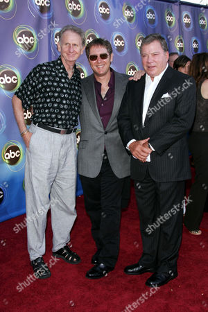 Rene Auberjonois, James Spader and William Shatner