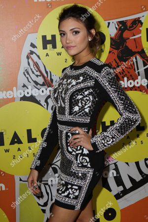 Editorial photo of Nickelodeon Halo Awards, New York, America - 14 Nov 2015