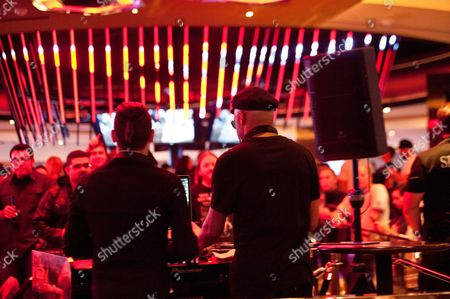 Editorial image of Tom Morello DJ set at Hard Rock Hotel, Las Vegas, America - 14 Nov 2015
