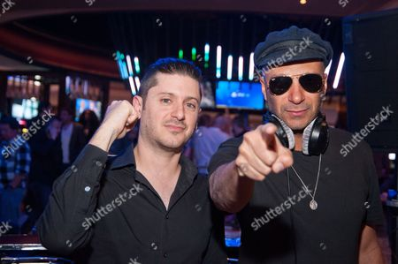 Stock Image of Carl Restivo and Tom Morello