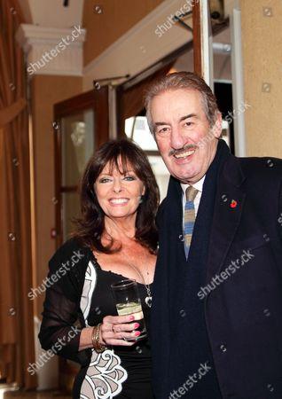 Stock Photo of Vicki Michelle MBE and John Challis
