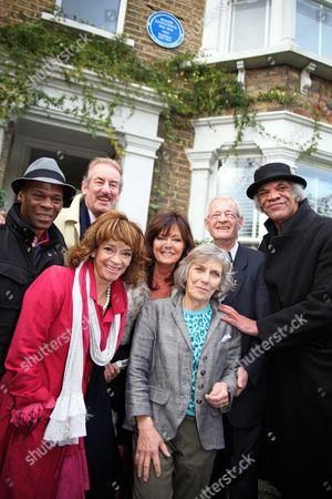 Steven Woodcock, John Challis, Sue Holderness, Vicki Michelle MBE, Jehane Markham, Christopher Lloyd-Pack, Paul Barber