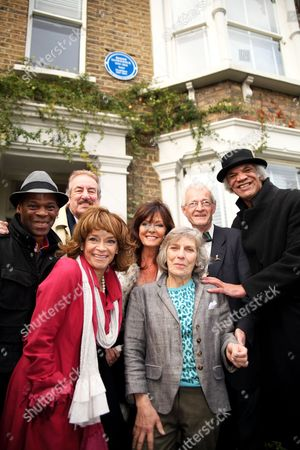 Editorial photo of Heritage Foundation Tribute Lunch and Blue Plaque Unveiling for Roger Lloyd-Pack, Marriott Hotel, London, Britain - 15 Nov 2015