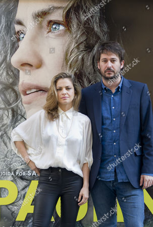 Dolores Fonzi and Argentine director Santiago Mitre