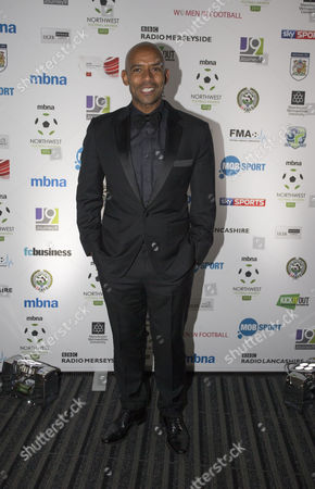 Trevor Sinclair arrives at the North West Football Awards held at Emirates Old Trafford Cricket Ground on November 16th 2015