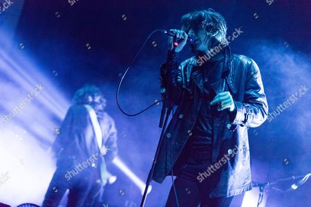 Editorial photo of The Horrors in concert at the O2 Academy Brixton, London, Britain - 16 Nov 2015