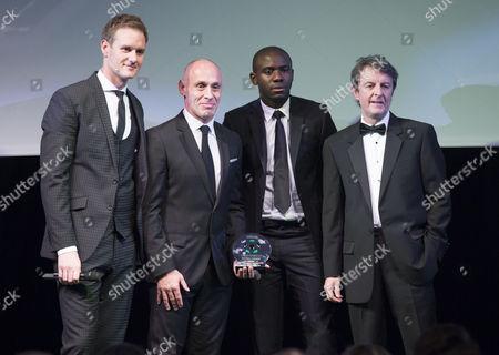 Editorial photo of Football - Northwest Football Awards 2015 Old Trafford, Sir Matt Busby Way, Manchester, United Kingdom - 17 Nov 2015