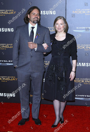 Suzanne Collins with guest