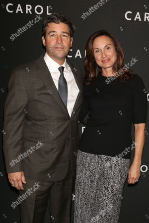 Kyle Chandler and wife Kathryn Chandler
