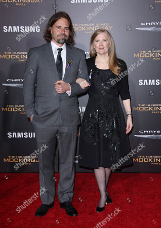 Stock Image of Suzanne Collins with guest