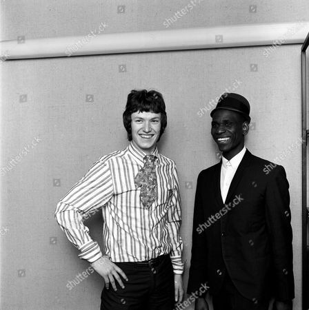 Stevie Winwood and Jackie Edwards - April 1966