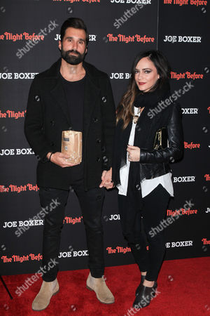Editorial picture of 'The Night Before' film screening, New York, America - 16 Nov 2015