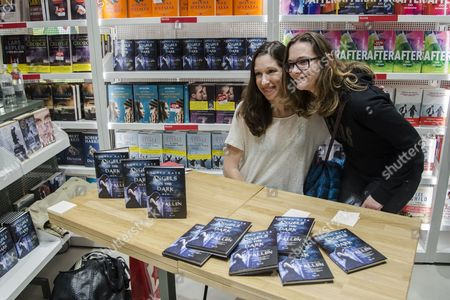 Editorial picture of Lauren Kate 'Angels in the dark' book signing, Milan, Italy - 14 Nov 2015
