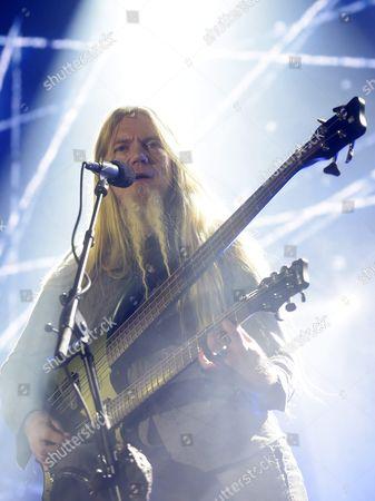 Bass player Marco Hietala of The Nightwish