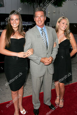 Jack Scalia and Daughters Jacqueline and Olivia