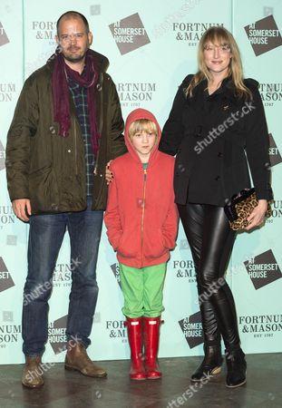 Jack Dyson, Jade Parfitt with son Jackson