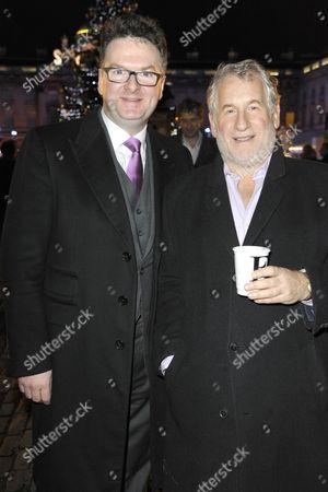 Ewan Venters and Simon Kelner