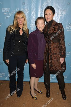 Stock Picture of Rosanna Arquette, Gail Abarbanel, Cheryl Saban