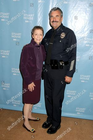Gail Abarbanel, Charlie Beck, LAPD