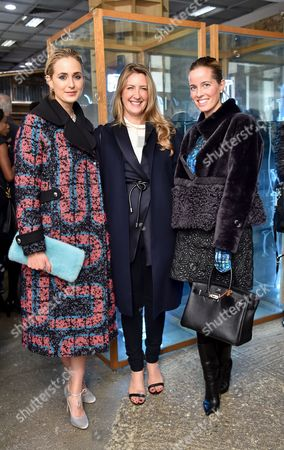 Princess Elisabeth von Thurn und Taxis, Georgina Cohen and Carolina Gonzalez-Bunster