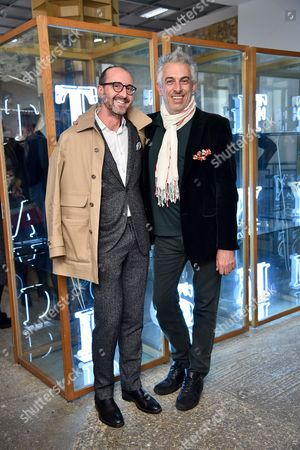 Gianluca Longo and Rifat Ozbek