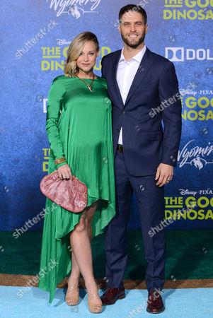 Stock Picture of Alyshia Ochse and husband Lee Knauz