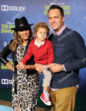Editorial photo of 'The Good Dinosaur' film premiere, Los Angeles, America - 17 Nov 2015