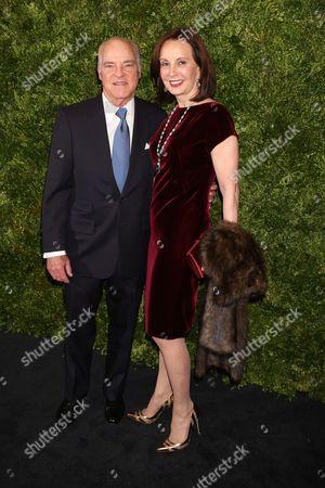 Henry Kravis and Marie Josee Kravitz