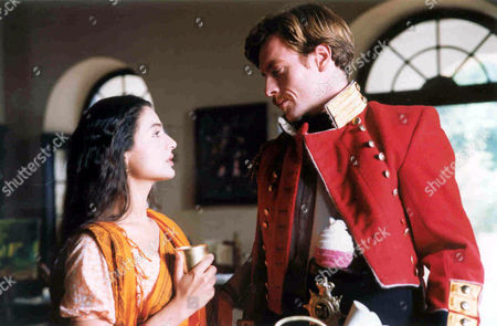 'The Rising' - Toby Stephens who plays a British solder William Gordon with Indian actress Amisha Patel as Jwala