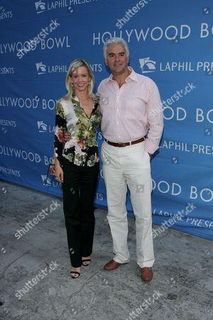 Stock Image of John O' Hurley and Wife Lisa